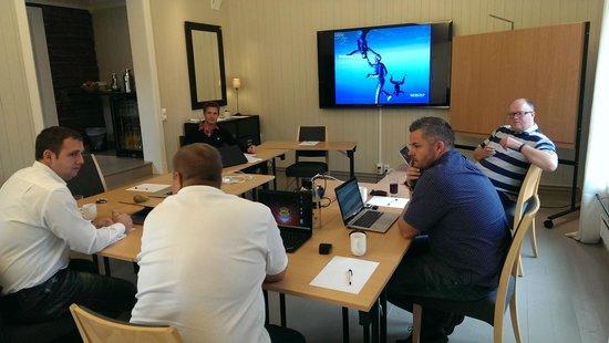 Kleivstua Hotel: Top møterom
