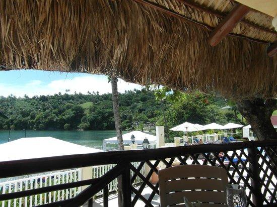 Grand Bahia Principe Cayacoa: Views from snack bar