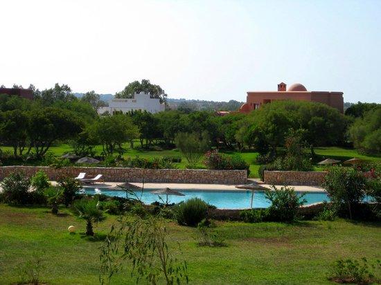 Domaine de l'Arganeraie: Ausblick von der Terrasse
