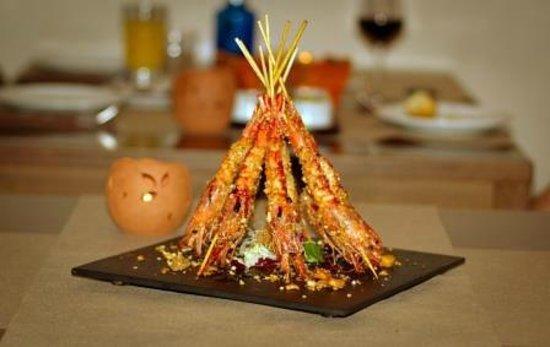 Restaurant Sa Casa : Gambas con kikos