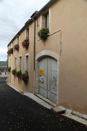 Le Cep en Sancerrois : The entrance