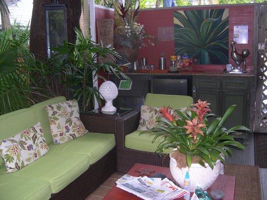 The Mermaid & The Alligator: garden seating