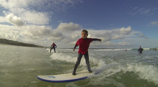 Gwithian Academy of Surfing: Josh Rudd, having fun, fun, fun!!
