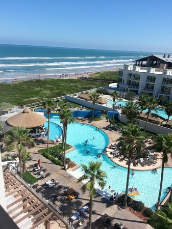 Pearl South Padre : Balcony View from 7th Floor