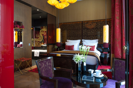 Buddha-Bar Hotel Paris: Deluxe King Room