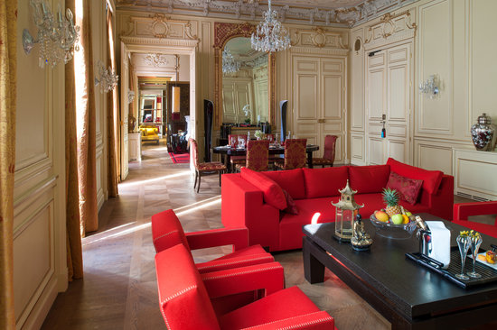 Buddha-Bar Hotel Paris: Suite de Gagny - Salon de reception II