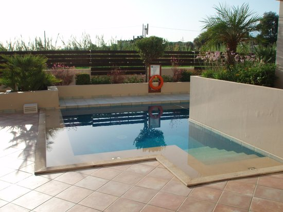 Asterion Hotel Suites and Spa: Small pool in front of our room