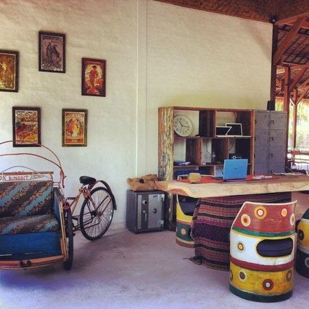 La Cocoteraie Ecolodge: Reception
