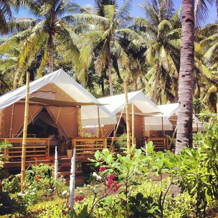 La Cocoteraie Ecolodge Luxury Tents: Try the Glamping!