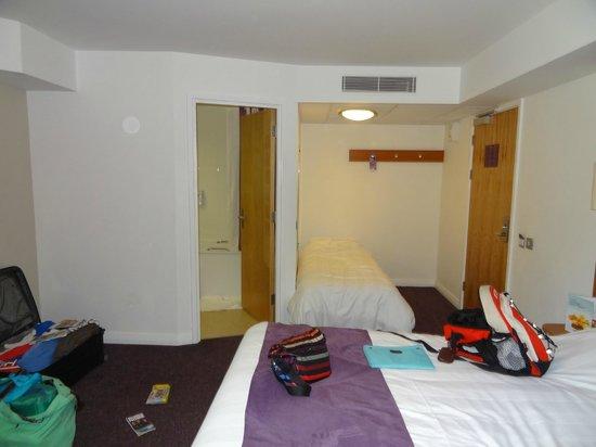 Premier Inn Exeter Central St Davids Hotel: 2ème lit simple