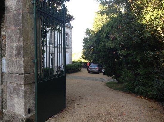Maison de la Garenne : Entrée de la maison