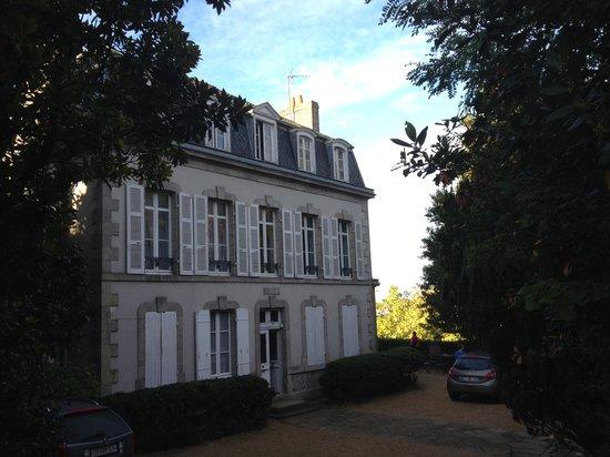 Maison de la Garenne : Façade