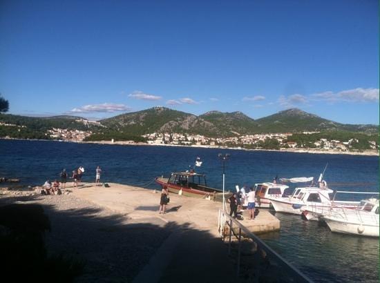 Villa Perka: a boat ride to jerolim