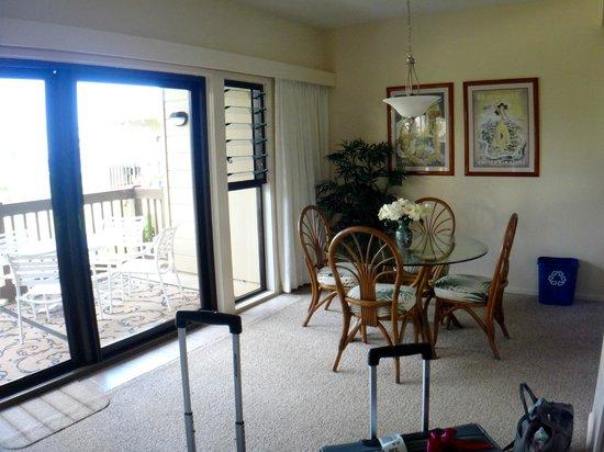 Castle Kaha Lani: Dinning area