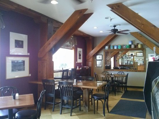 Old Mill Market & Cafe : indoor view of the Old Mill