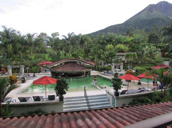 The Royal Corin Thermal Water Spa & Resort: desde la terraza