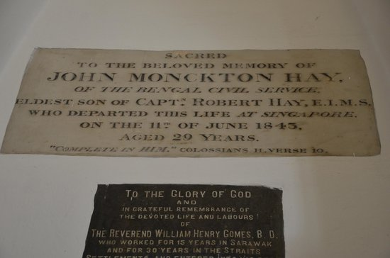 St Andrew's Cathedral: Memorial