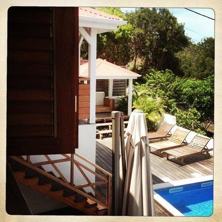 Chambres d'Hôtes Amarelao : La terrasse