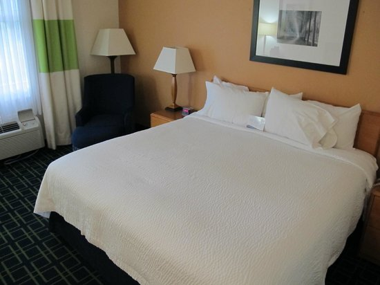 Fairfield Inn & Suites Gatlinburg North: Great clean comfortable rooms