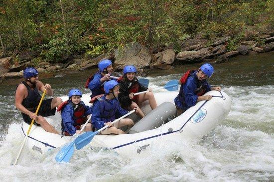 Cherokee Rafting : Great photo opportunities
