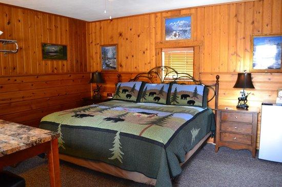 Alpine Motel: Notre chambre