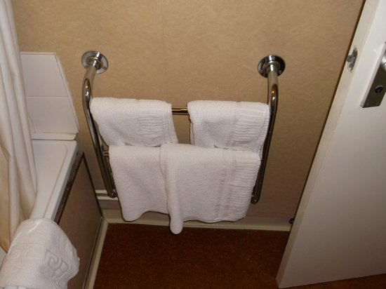 County Hotel: good sellection of towels