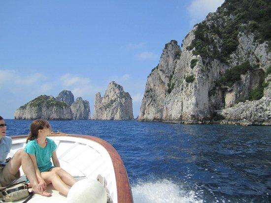 Casa Angelina : On the way to Capri