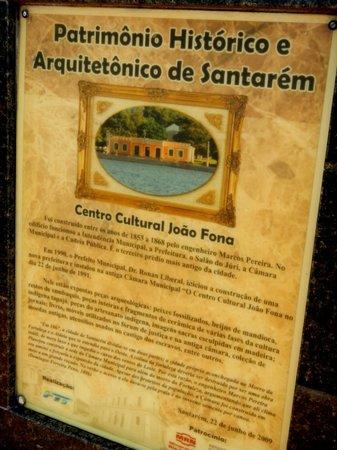 Joao Fona Cultural Center: Centro Cultural João Fona