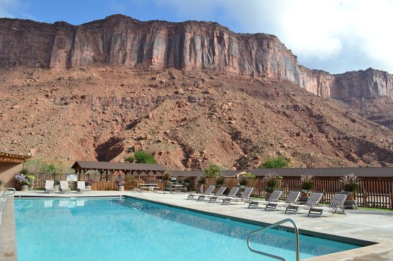 Red Cliffs Lodge: vue
