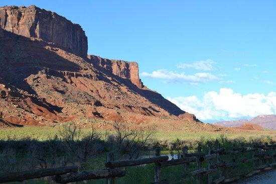 Red Cliffs Lodge: vue