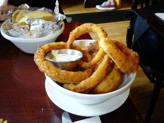 Captain Americas: onion rings
