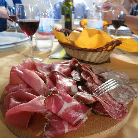View from breakfast - Picture of Soggiorno Taverna Celsa, Sovicille ...