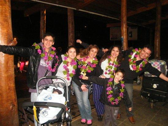 Cabanas Manatea: bienvenida en hotel
