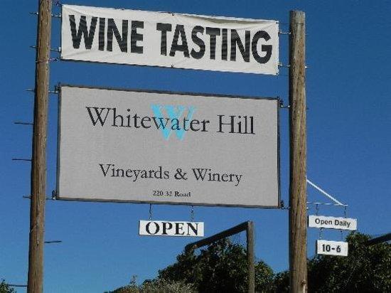 Whitewater Hill Vineyards: Whitewater Hill Vineyard