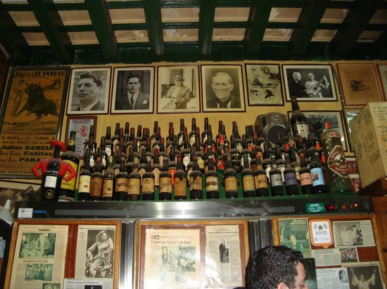 Taberna Casa Manteca: Botellas