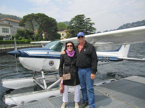 Albergo Terminus Hotel: Float plane ride - reserve early
