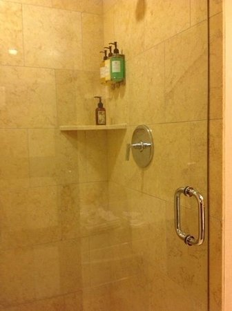The Paramount Hotel: Separate shower