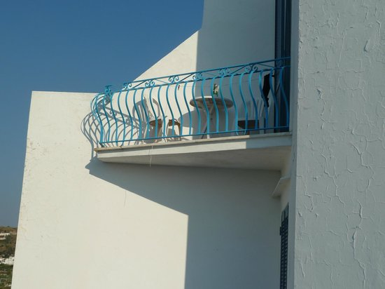 Hotel Loreley: Unser Balkon von 1 ½ m²