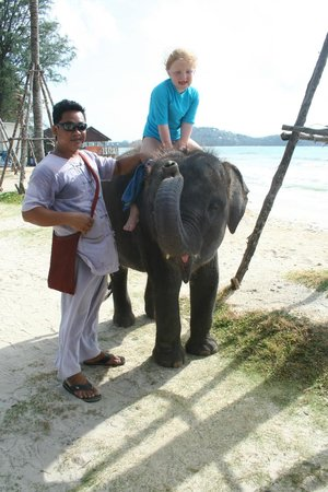 Outrigger Laguna Phuket Beach Resort: L'elefantino