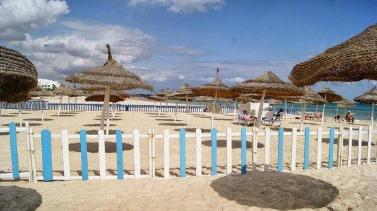 Royal Beach Hotel: Beach area
