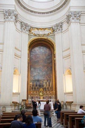 Chiesa di Sant'Ivo alla Sapienza: First View