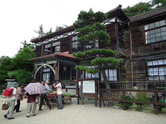 Fukiya Elementary School: 吹屋小学校一般公開の様子