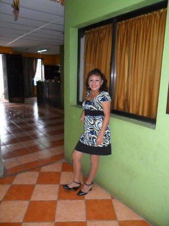 Hostal Santa Maria : esto es uno de los pasillos del hostal