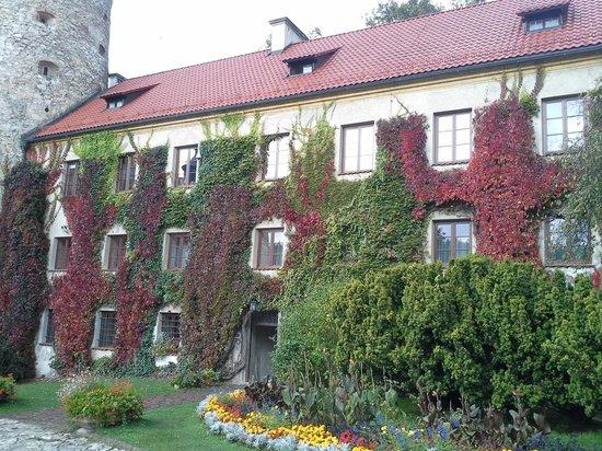 Pieskowa Skala Castle : from courtyard