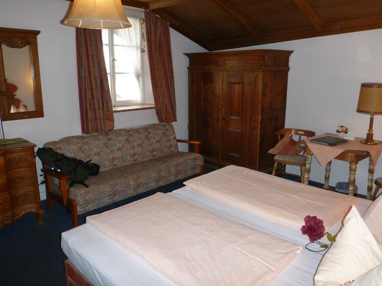 Alpenrose Traditionsgasthof: Very nice room
