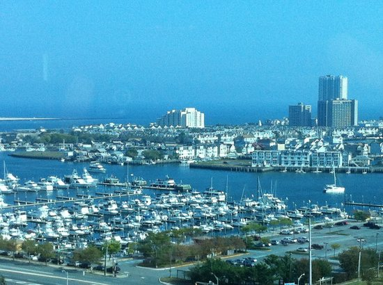 The Water Club by Borgata: View from The Water Club at Borgata