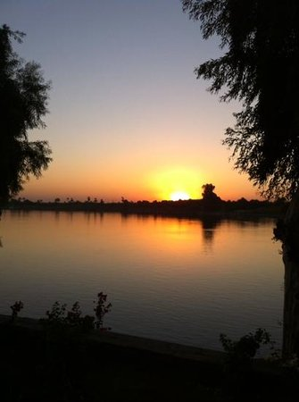Jolie Ville Hotel & Spa - Kings Island, Luxor: sunset