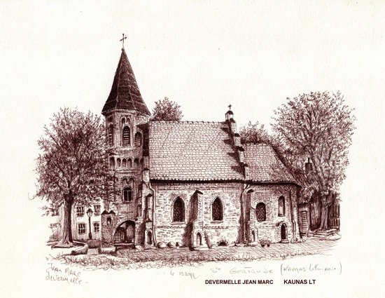 St. Gertrude's Church: CROQUIS EN SEPTEMBRE 1999