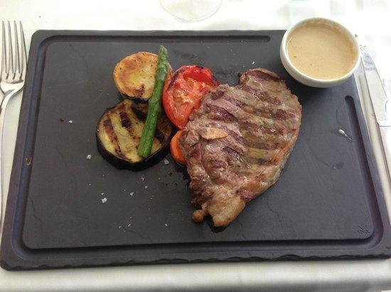 Restaurante Rincon de Pepe: entrecôte 'menu)