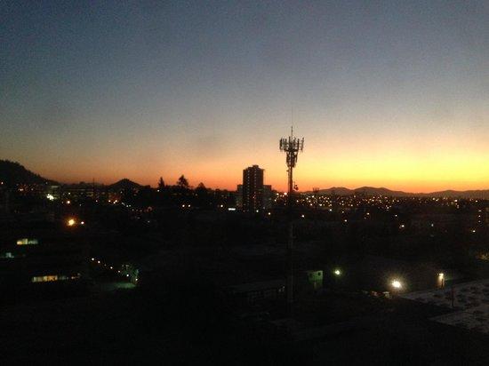 Radisson Ciudad Empresarial: Vista do anoitecer